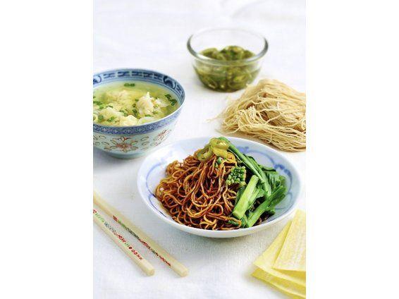 Street Food at Home: Prawn Wantan Mee