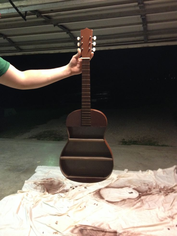 226 best guitar misc images on pinterest guitar shelf guitars guitar shelf diy i used an old guitar and cut it out and made shelves solutioingenieria Gallery