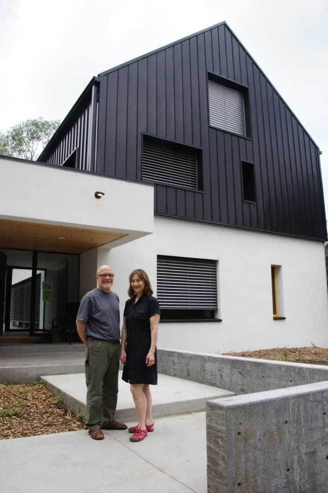 Minneapolis Passive House The Home That Makes Money Passive House House Exterior Passive Design