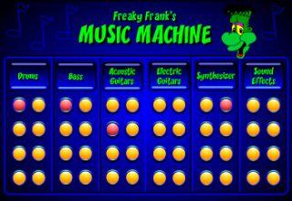 Actividades para Educación Infantil: La máquina musical de Frank