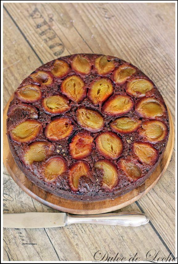 švestkový dort bez mouky