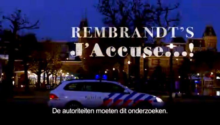 Peter Greenaway met Rembrandt's J'accuse op International Documentary Film Festival Amsterdam