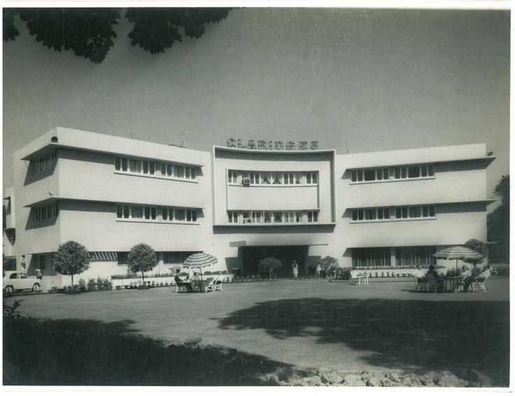 The year 1955:  The Claridges New Delhi is born.