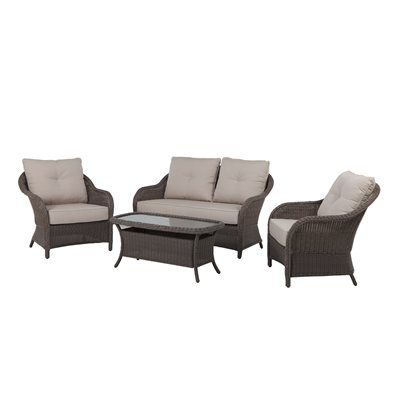 Allen Roth Patio Furniture Set