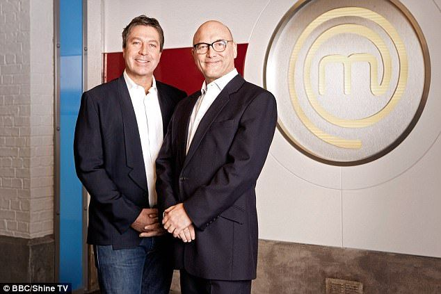 Not friendly: John Torode (left) has revealed that he has 'never been friends' with his Masterchef co-host Gregg Wallace