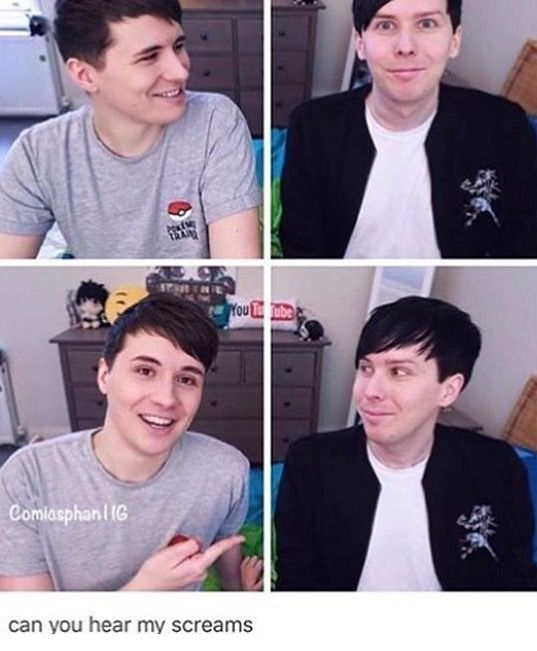 Love eyes Lester and heart eyes Howell in one picture