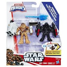 """Star Wars Galactic Heroes Chewbacca & First Order TIE Pilot - Hasbro - Toys""""R""""Us"""
