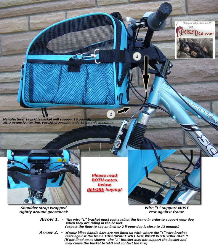 dog baskets for a bike | Large BICYCLE BASKET Traveler dog carrier pet bike carriers