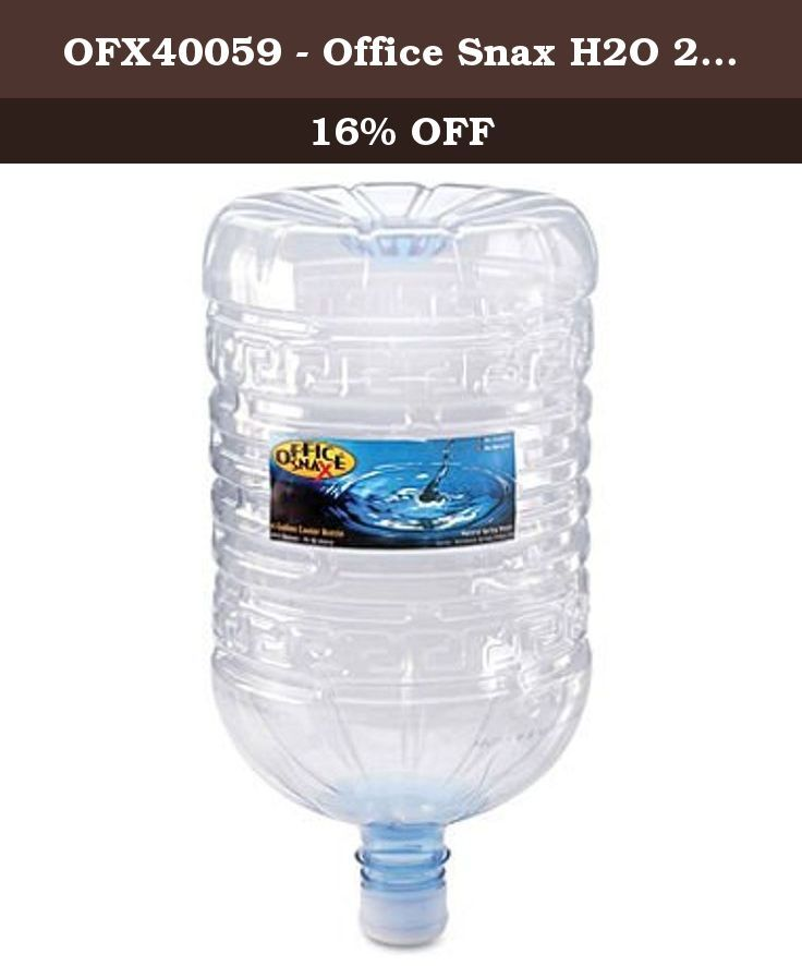 OFX40059 - Office Snax H2O 2go Natural Spring Water. Office Snax H2O 2go Natural Spring Water.
