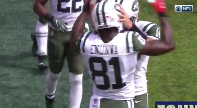 The New York Jets took their opening possession and jammed it down the throat of…