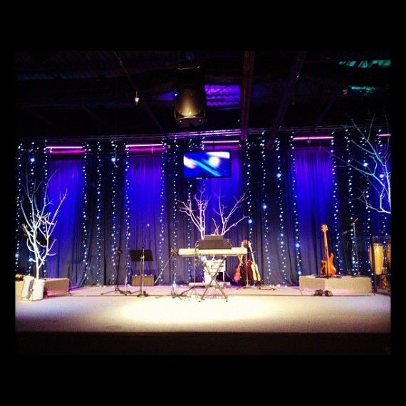 17+ Images About Church Stage Decor On Pinterest