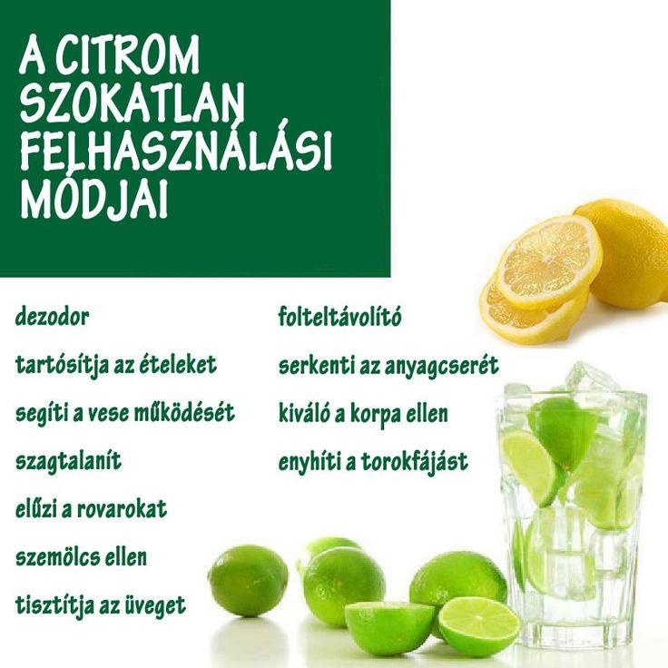 A citrom szokatlan felhasználási módjai | Socialhealth