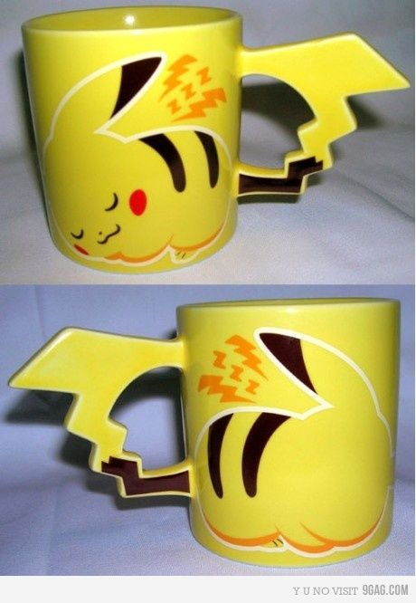Pikachu Mug! Perfect for tea and coffee ;3