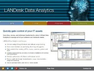 LANDesk Data Analytics Microsite