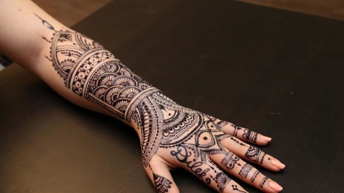 Henna Tato Tangan - Menjelang Pernikahan Pasti Kamu Ingin Tampil Cantik, Pakai…