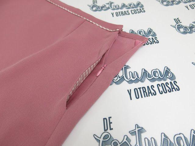 Como aplicar cremallera y bolsillo en la misma costura
