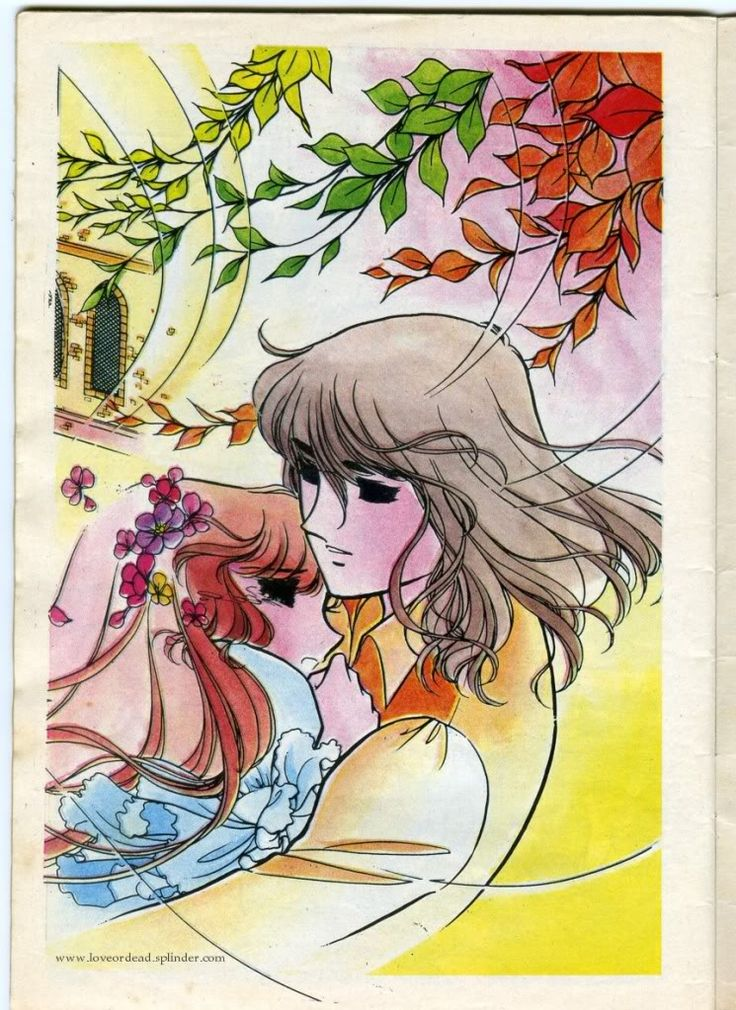 Fostine by Chieko Hara color sleeve ✤ || フォスティーヌ • concept art, #shojo clasico #historieta #anime #cartoni #animati #comics #cartoon from the art Chieko Hara|| ✤ #Fostine, #Faustine, #Luna, #Lorena. 1978