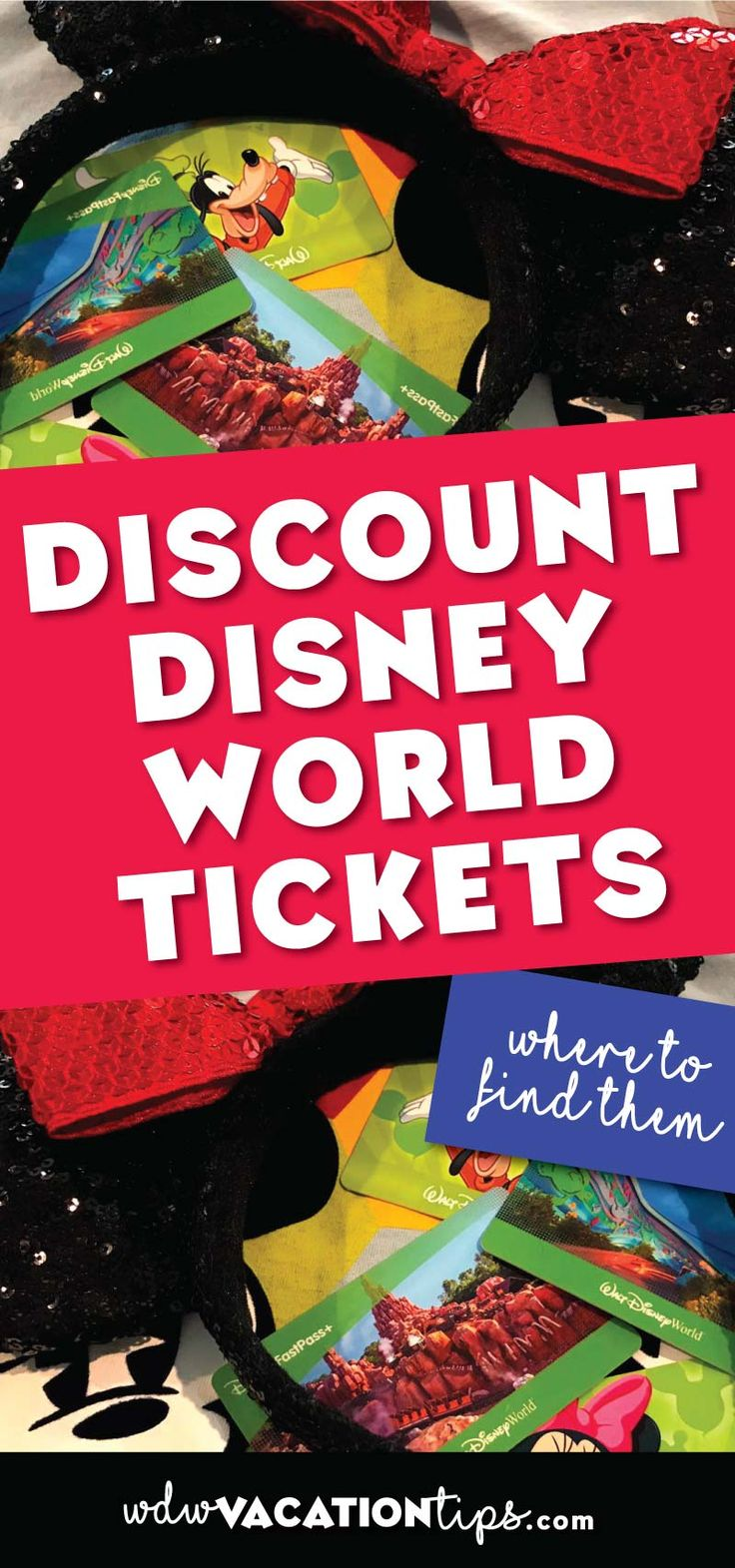 Where to find discounted Disney World tickets. Also important information on how to spot Disney ticket scams!!
