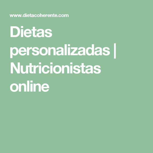 Dietas personalizadas | Nutricionistas online