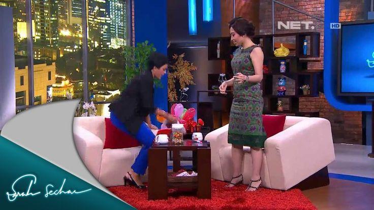Sarah Sechan - Ayu Dewi bermain games bersama Sarseh