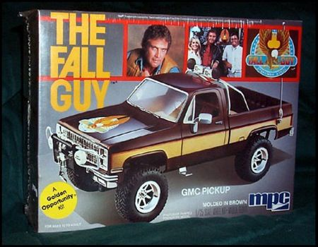 The Fall Guy Model Kit    good kit but you have to stretch the bed and frame