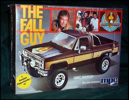 The Fall Guy Model Kit