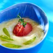 Green gaspacho - une recette Végétarien - Cuisine