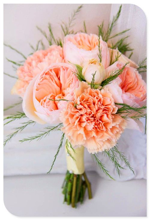 these would be small and sweet for the bridesmaids. maybe with ranunculus.  A&J