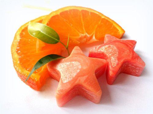 Wax into aroma lamps orange