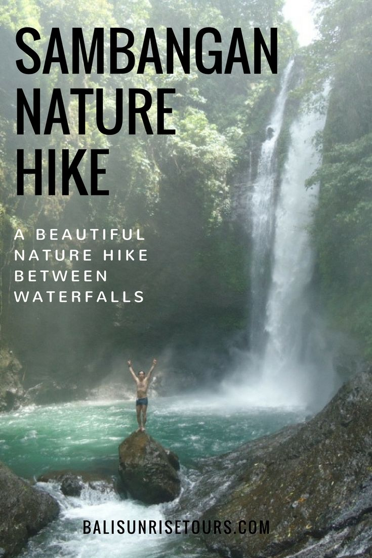 See waterfalls, rice paddies, jungles and more on our Sambangan Nature Hike in North Bali.