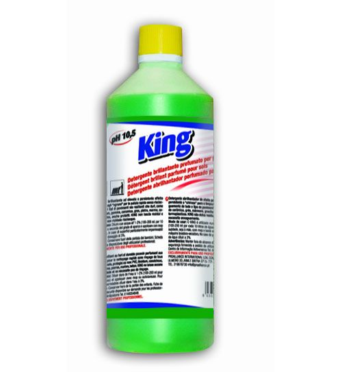 Check Out Our Awesome Product: King 1 Litro CRT 12 Pezzi   >>>>>>Detergente brillantante ad elevato e persistente effetto profumante.