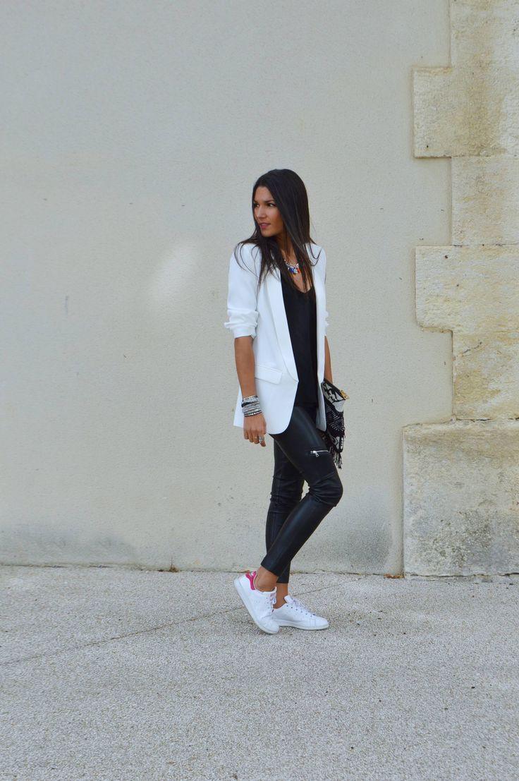 JUNESIXTYFIVE – Look blazer blanc tendance