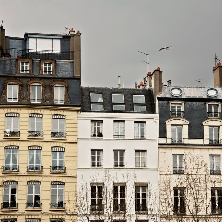 Gray Sky in Paris