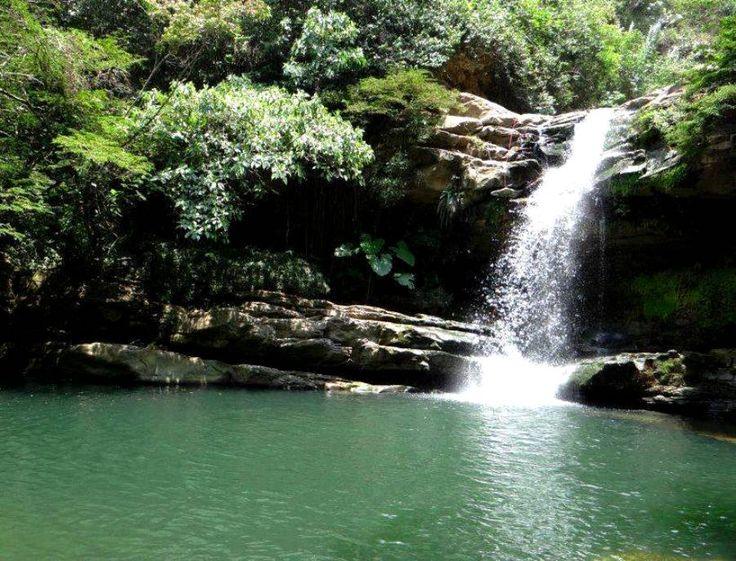 Colombia - Cascada El Paraíso, Zapatoca, Santander.