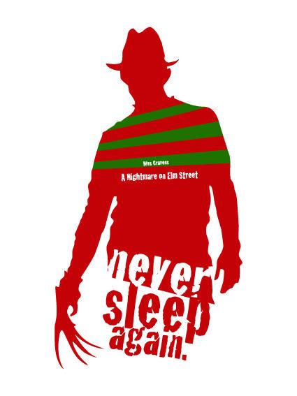 Nightmare on Elm Street poster.