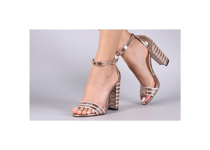 Qupid available in pewter at Hype Shoe Store. Retail price $38 USD#blockheels #dressysandals