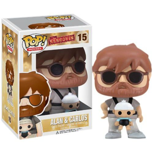 Funko POP Vinyl Figure Movies - Alan with Baby Carlos