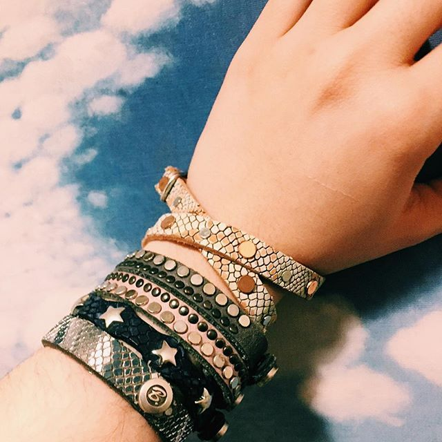 Up your arm candy with a leather cuff (or five)