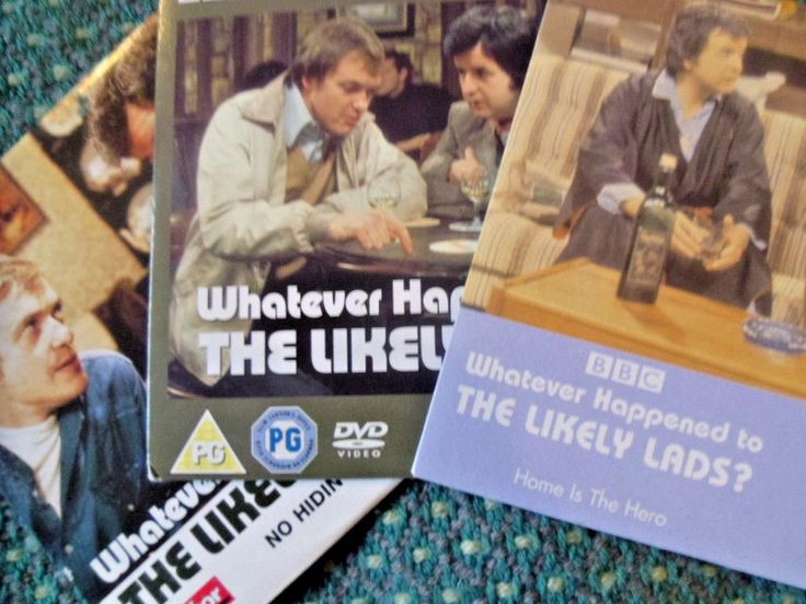 3 Whatever happened to the Likely Lads DVDs - Daily Mirror- Rodney Bewes - Used