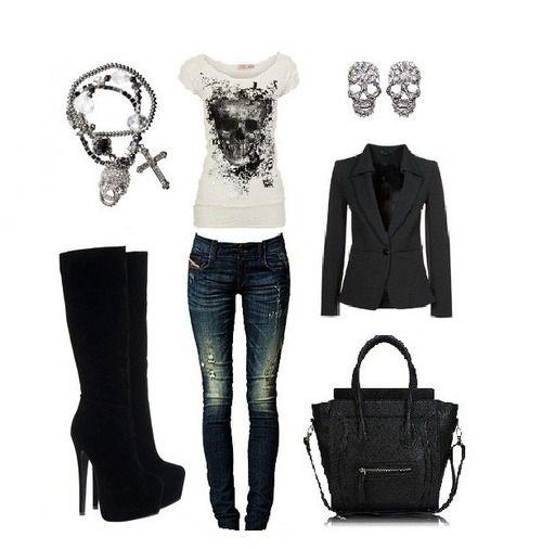 Design skull in fashion...love love love