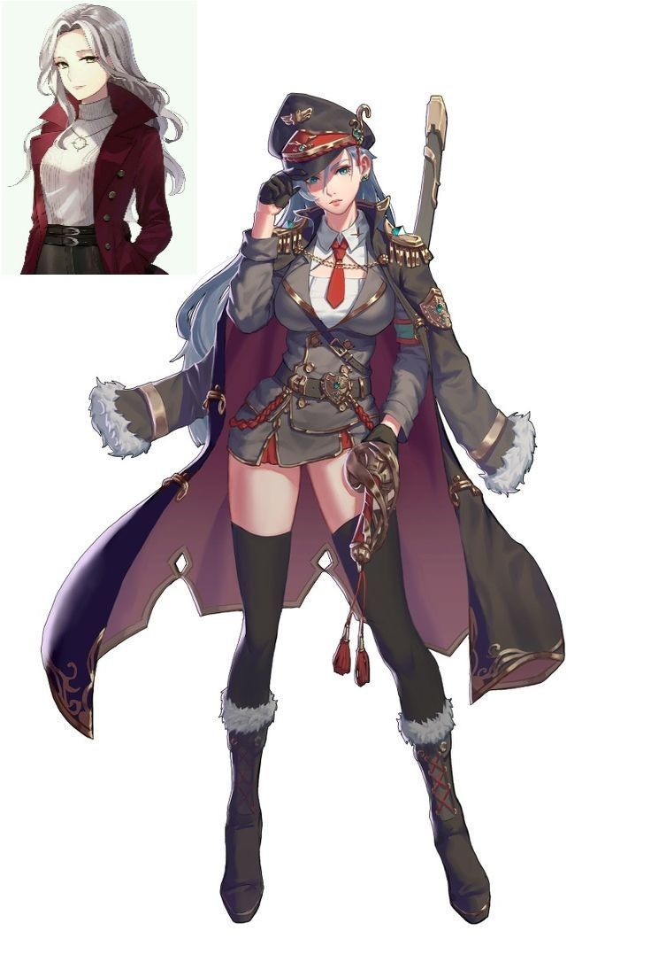 Peremeny Military Girl Concept Art Characters Fantasy Character Design
