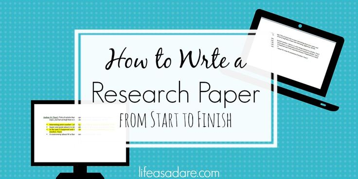 How to Write a Term Paper (with Example Papers)