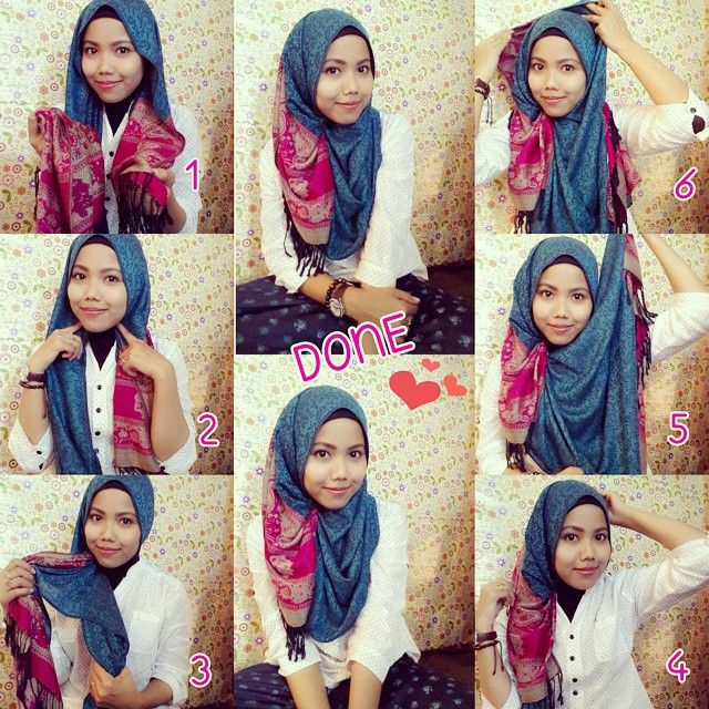 Gorgeous Hijab Style Tutorial