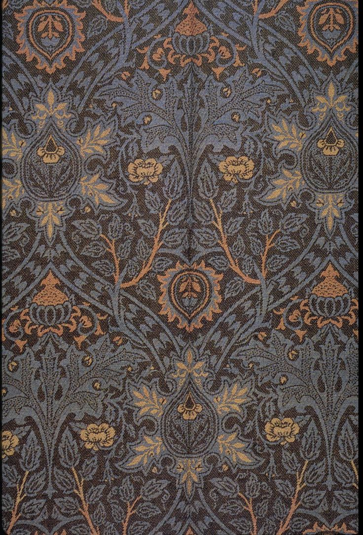 Ispahan, A Woven Wool Textile Designed By William Morris Or John Henry  Dearle, Ca