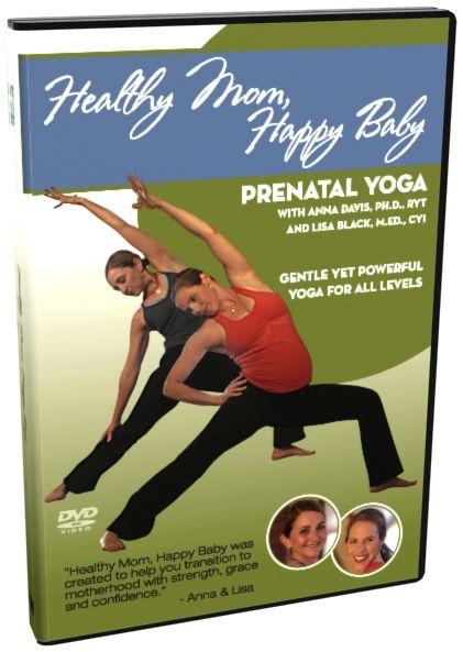 Healthy Mom, Happy Baby Prenatal Yoga DVD