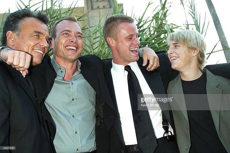 To R Actors Ray Wise Jonathan Breck Eric Nenninger and Shaun Fleming arrive at the premiere of...