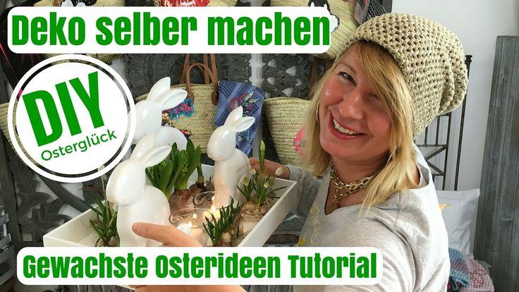 DIY-Deko Ideen selber machen - Gewachste Osterideen - von Imke Riedebusch - YouTube
