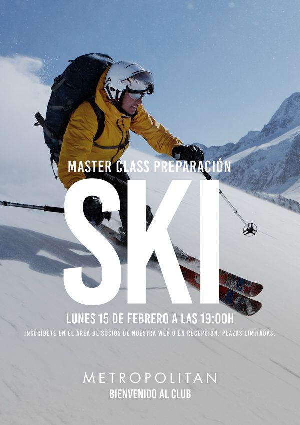 Master Class en especial de preparación de SKI en Metropolitan Abascal.