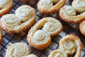Learn how to make palmiers with just two ingredients! Palmiers, Elephant Ears, French Hearts, Palm Leaves: whatever you like to call them, these cookies are in the running for my all-time favorite treat. I'm grinning tonight as I sit here and write about theseflaky, sweet, Frenchcookies. It turns out that I like Palmiers so much,Read More