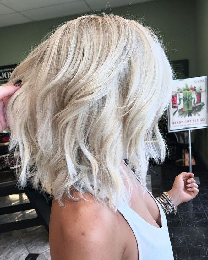 Best of balayage medium length haircuts & hairstyles for 2019 52